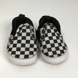 Checkered Baby Vans